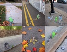Vẻ đẹp đáng kinh ngạc của nghệ thuật đường phố